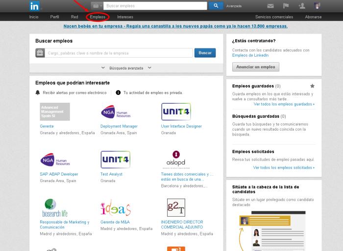 Empleos LinkedIn